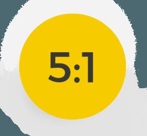 Proporcja luteiny i zeaksantyny 5:1